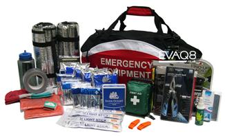 72 hour Emergency Preparedness Kit to shelter-in-place| Go Bag and Emergency Preparedness supplies you can depend on in a major incident or disaster from EVAQ8.co.uk the UK's Emergency Prepardness specialist